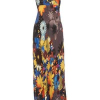 Multi floral frill maxi dress - Maxi Dresses  - Dresses  - Dorothy Perkins