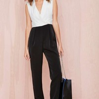 Fancy Pants Tux Jumpsuit