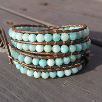 Wrap Bracelet Summer Blue