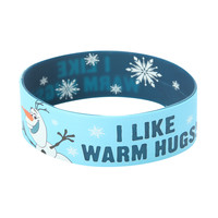 Disney Frozen Olaf Warm Hugs Rubber Bracelet