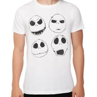 The Nightmare Before Christmas Jack Heads T-Shirt
