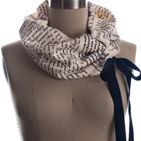 Persuasion Light Weight Summer Book Scarf