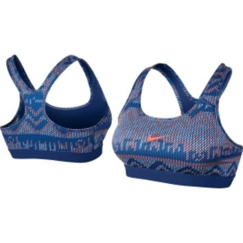 Nike Women's Pro Core Classic Nordic Compression Sports Bra - Dick's Sporting Goods