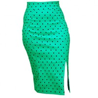 Steady Clothing Polka Dot Pencil in Mint | Retro Pin Up Style