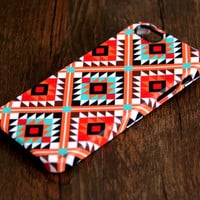 Navajo Seamless Geometric iPhone 6 Plus/6/5S/5C/5/4S/4 Wrap Case #115 - iPhone