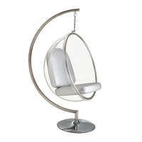 Hanging Orbit Chair in White