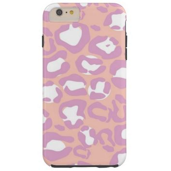 Animal Print, Spotted Leopard - Purple Pink