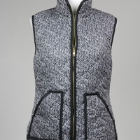Quilted Puffer Vest- Pre-Order