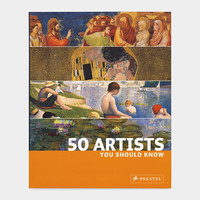 50 Artists You Should Know (PB)