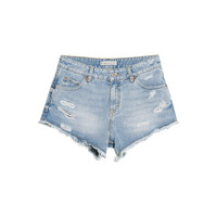 Buy Mango Denim Shorts, Medium Blue | John Lewis