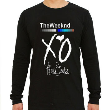 XO The Weeknd Drake YMCMB for long sleeved Mens and long sleeved Girls