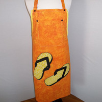 BBQ apron for the casual man     O.O.A.K.