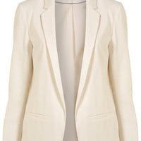 Co-ordinating Linen Blazer - Blazers - Jackets & Coats - Clothing - Topshop USA