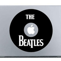 FREE SHIPPING -- The Beatles Abbey Road Macbook Decal