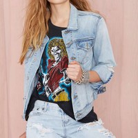 Nasty Gal Denim - The Over and Out Jacket