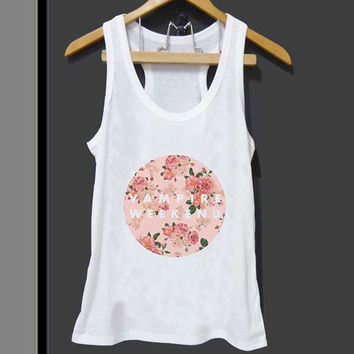 Vampire Weekend Floral Logo for Tank top Mens and Tank top Girls ZeroSaint custom