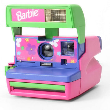 Impossible Vintage Barbie Polaroid Instant Camera Set - Urban Outfitters
