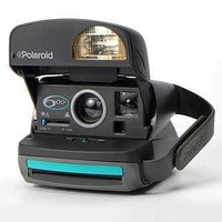 Impossible Vintage Express 600 Teal Polaroid Instant Camera Set - Urban Outfitters