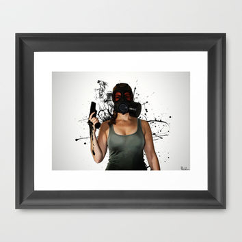Bellatrix - Horizontal Framed Art Print by Nicklas Gustafsson
