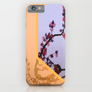 Unwind ( tree series cont.) iPhone & iPod Case by Laura Santeler | Society6