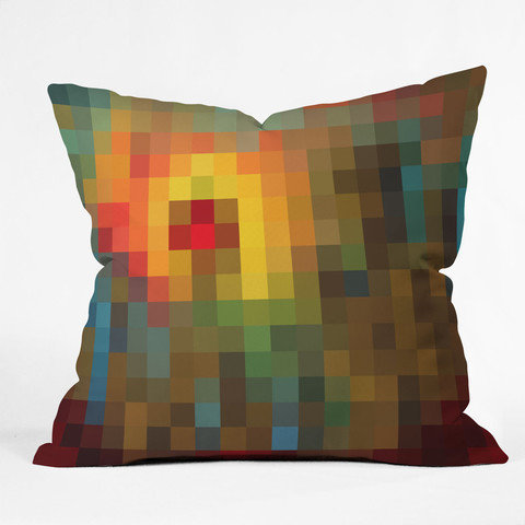 DENY Designs Home Accessories | Madart Inc. Glorious Colors Throw Pillow
