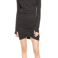 Turtleneck Twisted Dress