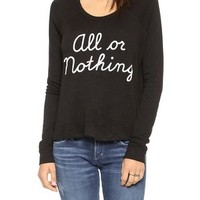 All or Nothing Cropped Pullover
