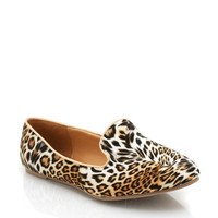 leopard-loafers NUDE - GoJane.com