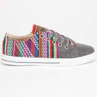 Inkkas Low Top Womens Shoes Slate  In Sizes