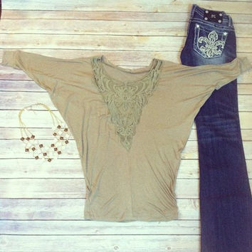 """""""Lace and Love"""" Top"""