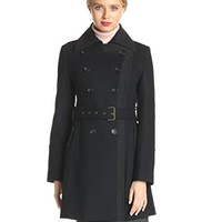 Tommy Hilfiger Women's Wool Double-Br...