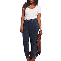 Knit Denim Jogger Pant | Wet Seal+