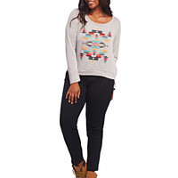Aztec Pullover Sweater | Wet Seal+
