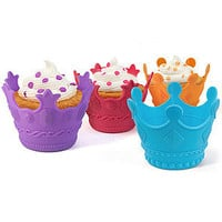 The Aristocakes Crown Cupcake Molds (Set of 4)