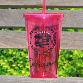 Mary Kay cup, acrylic tumbler, mary kay tumbler, personalized cup, plastic cup, holiday gift, cup with logo, cup with bling, Bridal cup
