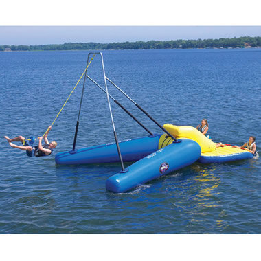 Floating Rope Swing