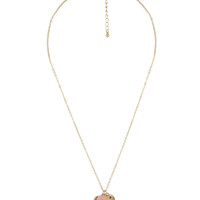 Key To My Heart Necklace | FOREVER21 - 1000048634