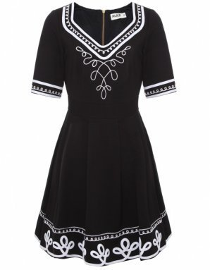 Alice by Temperley Black Blake Dress