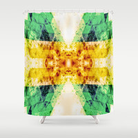 ONE STEP CLOSER Shower Curtain by Chrisb Marquez
