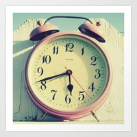 Time will Tell Art Print by simplyhue | Society6