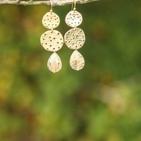 Peace In The Valley Earrings-Natural