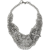 Lulu Frost Glass crystal bib necklace - Polyvore