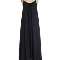 Wish Fulfillment Dress in Black - Maxi | Mod Retro Vintage Dresses | ModCloth.com