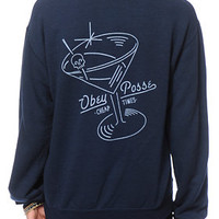 Obey Cheap Times Crew Neck Sweatshirt