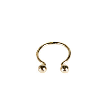BALL POINTED CUFF KNUCKLE RING