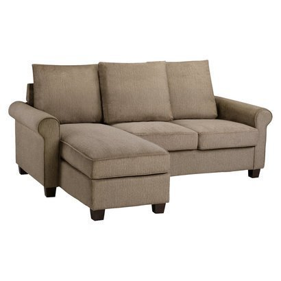 Bradford Rolled Arm Right Chaise Sofa Sectional