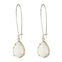 Kendra Scott Dee Earring Gold White Mother of Pearl - Zappos.com Free Shipping BOTH Ways