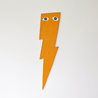 Yellow/Orange Lightening Bolt