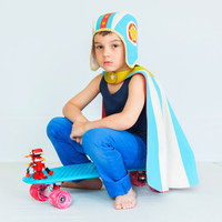Moto-Hero Cape & Hat Set