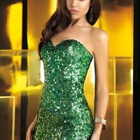 2014 Alyce Paris Sequins Homecoming Dress 4360